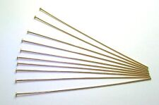 "30 each 14k GOLD FILLED 3"" HEAD PINS - 24 GA"