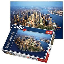 Trefl 1000 PEZZI Adulto Large Aerial NEW YORK MANHATTAN vista FLOOR PUZZLE