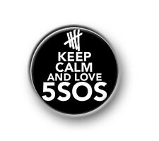 """KEEP CALM 5SOS / 1"""" / 25mm pin button / badge / band / 5 Seconds of Summer / Aus"""