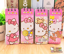 Cartoon Hello Kitty Mini Diary Jotter Book Memo Note Pad Spiral Notebook 2pcs