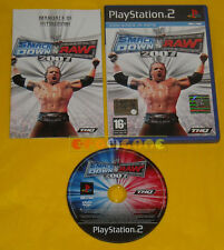 WWE SMACKDOWN VS RAW 2007 Ps2 Versione Italiana 1ª Ediz Smack Down »»»» COMPLETO