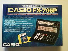 ONLY A FEW LEFT Vintage Casio FX 795 P personal handheld Computer - NIB