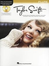 Play-Along Taylor Swift Flute Play Love Story Country Pop Music Book & CD