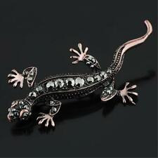 NEW STUNNING EXQUISITE CRYSTAL LIZARD GECKO BROOCH PIN 2579736