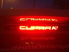 "SEAT Leon 2005-2008 Pre-Facelift ""Cupra K1"" 3rd Brake Light Sticker Vinyl Ibiza"