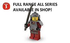 Lego minifigures samurai warrior series 3 (8803) unopened new factory sealed