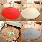 Soft Round Circle Circular Modern Shaggy Coloured Floor Carpet Rugs Mats OE