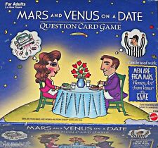 NEW Mars and Venus on a Date Question Card Game For Adults by Mattel