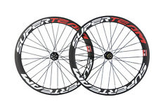 Superteam Disc Brake Wheels Road Bike Carbon Wheelset Novatec711-722  Hub Disc