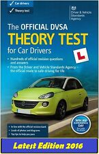 Official Driving Theory Test Book for Car Drivers 2016 DSA DVSA DVLA L *thB