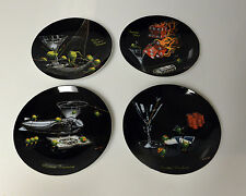 Michael Godard Salad Dessert Plates set of 4