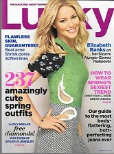 LUCKY MAGAZINE FEBRUARY 2012 (VF) ELIZABETH BANKS