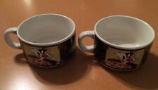 2 Sylvester, Tweety and Bugs Bunny Soup Bowls