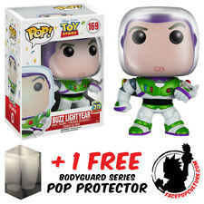 FUNKO POP DISNEY TOY STORY BUZZ LIGHTYEAR VINYL FIGURE + FREE POP PROTECTOR