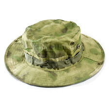 US ARMY Camo Military Boonie Hat / A-TACS Woodland (KHM Airsoft)
