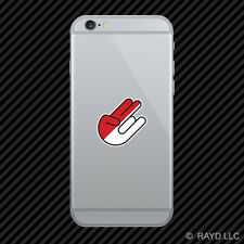 Indonesian Shocker Cell Phone Sticker Mobile Indonesia IDN ID