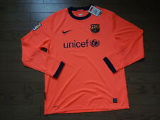 FC Barcelona 100% Original Jersey Shirt 2009/10 Away L Still BNWT NEW LS Rare