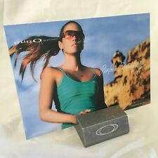 Oakley Perform Beautifully Rare Display Card Brand New Bob Juliet Medusa Cap m l