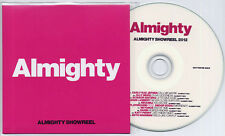 Almighty Showreel 2012 UK promo CD Katy Perry Rihanna Beyonce Carly Rae Jepson