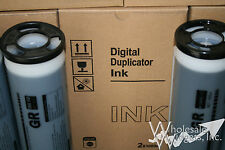 4 Compatible Riso S-2314 Super High Density Ink, Risograph GR3770 HD Duplicator