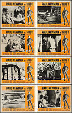 "Poster (8) Lobby Cards 1963 11""x14"" VF+ 8.5 Paul Newman"