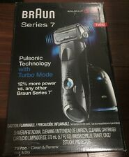 Brand New Sealed  Braun Series 7 Pulsonic Shaver System 797cc-7 With Turbo Mode
