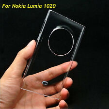 Glossy Transparent Clear Crystal Hard Plastic Case Cover For Nokia Lumia 1020