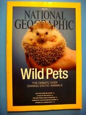 National Geographic Apr 2014: Exotic Pets, Coal Energy, Telescope, Roman Boats +