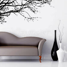 Removable Black Tree Branch Art Wall Sticker Home Living Room Decor Waterproof