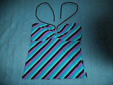 One piece of a HULA HONEY TANKINI swimsuit (TOP ONLY) WOMENS SIZE L