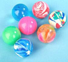 12 x Super Bouncy Balls - Rubber Multi Coloured Party Bag FIller Toys Set