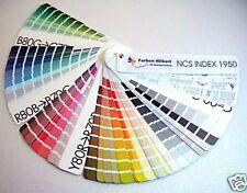 NCS Índice 1950 Carta De Colores Tarjetas Patrones Tonos Tapa dura