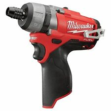 "MILWAUKEE M12 FUEL 12-VOLT BRUSHLESS 1/4"" HEX 2-SPEED SCREWDRIVER 2402-20 -- NEW"