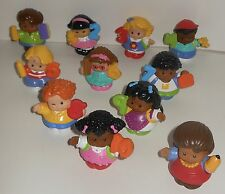 Fisher Price Little People Figures - 1-10 Set & Teacher - 11 Figure Collectibles