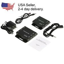 HDMI + IR Extender Balun over single Cat5e/6 50M 164ft LOOP OUT on sender EDID