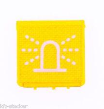 Schalter Symbolscheibe Rundum orange Warnlicht Rundumlicht Blitzlicht Hella ENG
