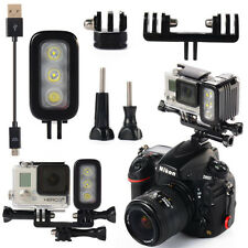 XCSOURCE Waterproof Spot LED Flash Light For Gopro Hero 4 Session 3+ Camera xiao