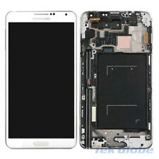 White LCD Touch Screen Digitizer + Frame for Samsung Galaxy Note 3 N9005 LTE