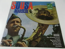 SOUSA - MÄRSCHE - DECCA PHASE 4 VINYL LP - BAND OF THE GRENADIER GUARDS BASHFORD