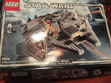LEGO Millennium Falcon 4504 Incomplete Parts In Box Star Wars
