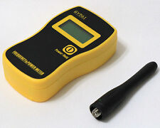 GY561 Portable Frequency Counter Tester + Power Meter for Two-Way Radio Yellow