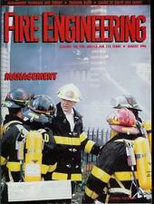 FIRE ENGINEERING MAGAZINE AUGUST 1990 ISSUE TRAINING BURNS/MANAGEMENT TECHNIQUE