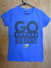 New- Middle Tennessee Blue Raiders Womens S Small Blue Shirt by Gildan