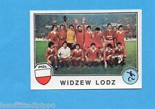 SPORT SUPERSTARS/EURO FOOTBALL 82-PANINI-Figurina n.144- WIDZEW LODZ TEAM-Rec
