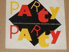 "ELVIS COSTELLO -Party Party- 7"" 45"