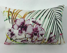 Harlequin Fabric Cushion Cover Paradise Papaya/Flamingo/Apple Linen Mix