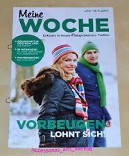Weight Watchers Meine Woche 10.11 -16.11 ProPoints Plan 360 Wochenbroschüre 2013