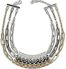 Authentic Swarovski Nascent Necklace. Limited Edtion. Magnificent 3 Rows Crystal