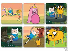 12 Adventure Time Jake Finn Stickers Kid Party Goody Bag Filler Favor Supply