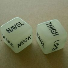 Couple Luminous Glowing In The Dark Dice Game Foreplay Toy Adult Sexy Love